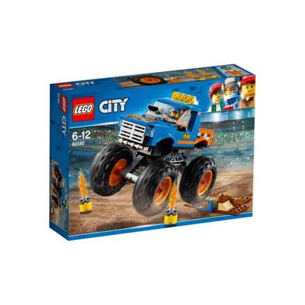 Monstertruck, LEGO City Great Vehicles (60180)