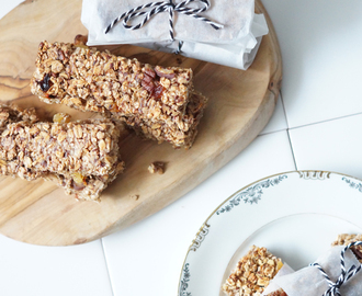 Recept granola banana bar