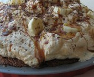 Bananentaart of Toffee? Allebei; Banoffee Pie!