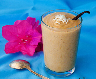 The Vanilla Fig Smoothie – A Healthy Smoothie Recipe
