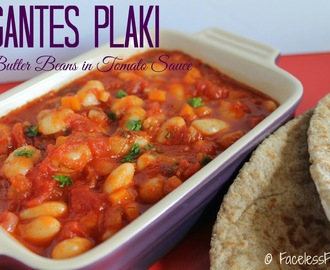 Gigantes Plaki (Butter Beans in Tomato Sauce)