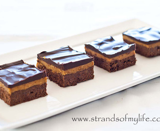 Chocolate Caramel Bars – gluten-free recipe and low FODMAP