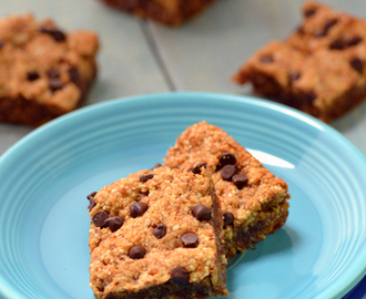 Dreena Burton's Sticky Almond Blondies and a Plant-Powered 15 Giveaway
