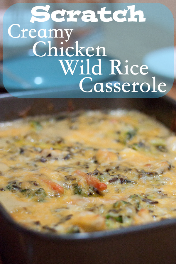 Creamy Chicken and Wild Rice Casserole