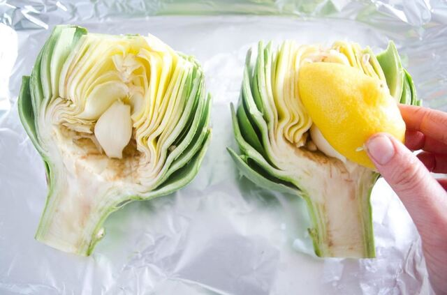 How To  :                         The Absolute Best Way to Prepare & Cook Artichokes