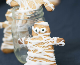 Biscuits momies – Halloween