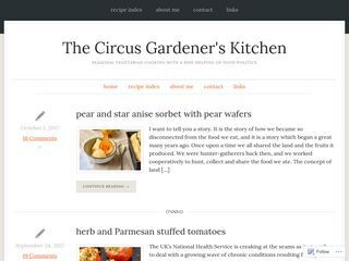 The Circus Gardeners Kitchen