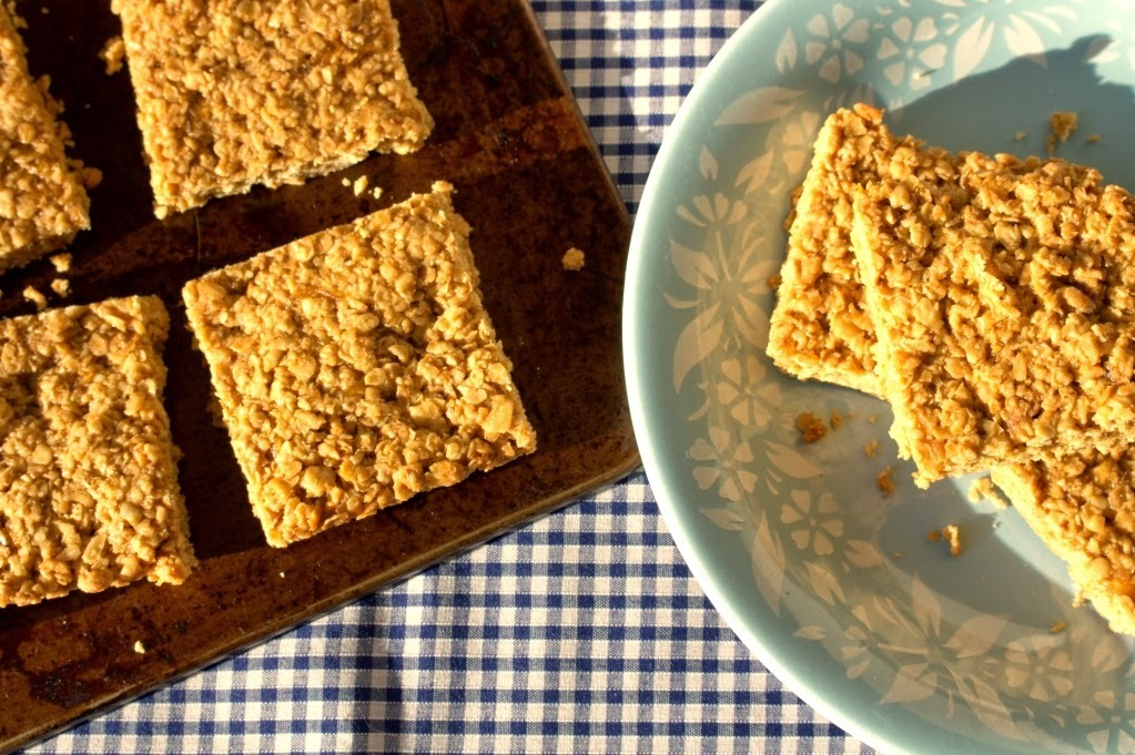 Fiery Ginger Flapjack