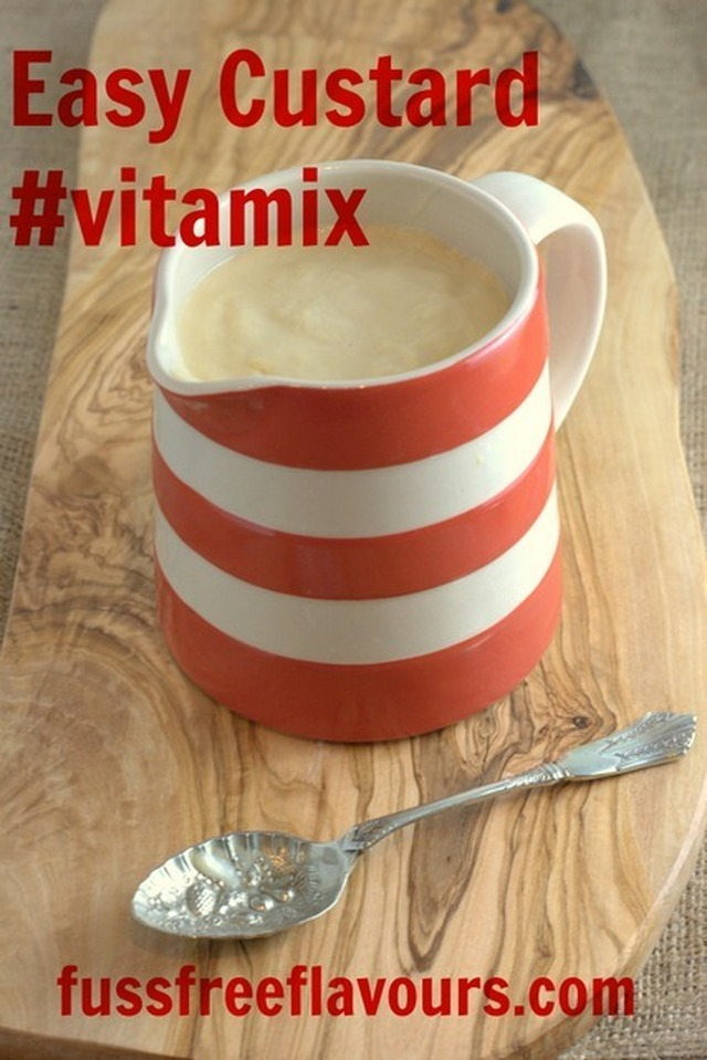 Recipe: One Step Vitamix Custard