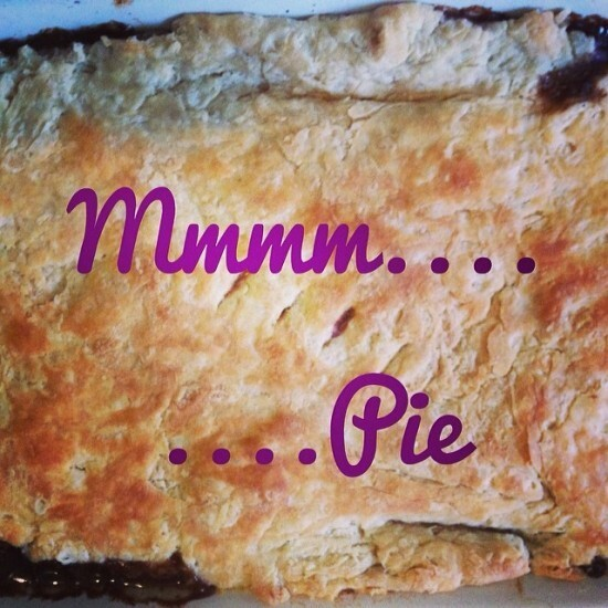 Thrifty Thursday – Leftover pies and alternative pie toppings….