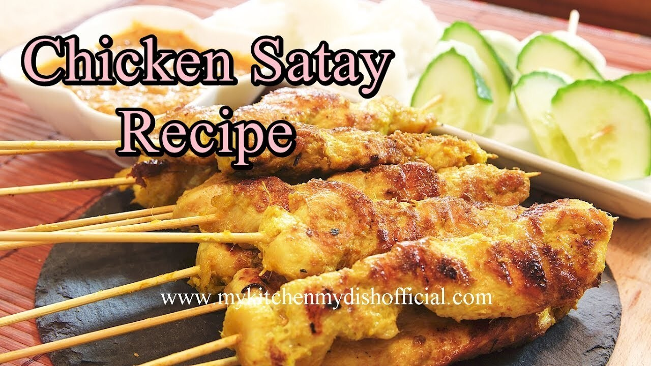 Chicken Satay Recipe | Most Easy Chicken Recipe | Ramadan Special Recipe - English Subtitiles