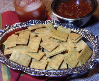 Corn Bread Crackers