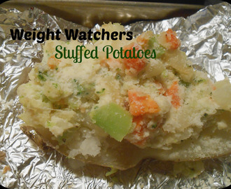 Weight Watchers Stuffed Potatoes