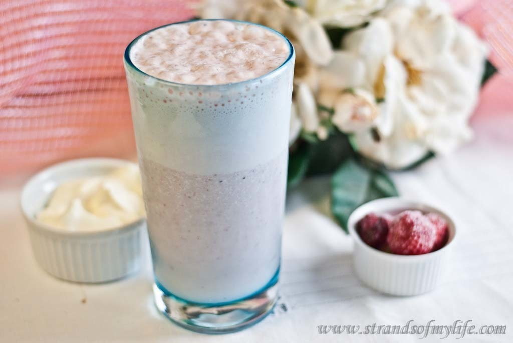 Strawberry Banana Smoothie – low Fodmap