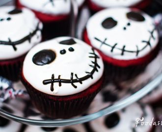 Jack Skellington Halloween Cupcakes