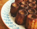 Mini cannelés (vegan).