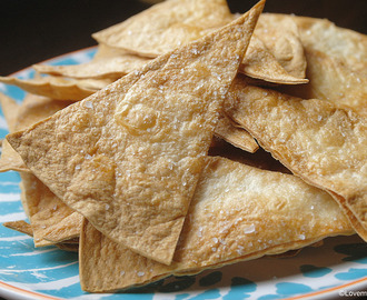 Homemade: Tortilla chips