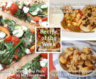 Vegetarian savoury treats + #recipeoftheweek 12-18 July