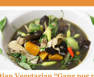 "Lao Style Vegetarian ""Gang nor mai"" Bamboo Stew"