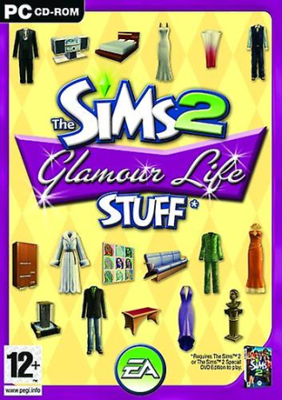 Sims 2 Glamour liv grejer (PC CD)