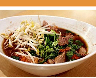 Thai Roast Duck Noodle Soup