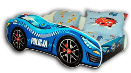 Cool beds Police car bilsäng - 140x70