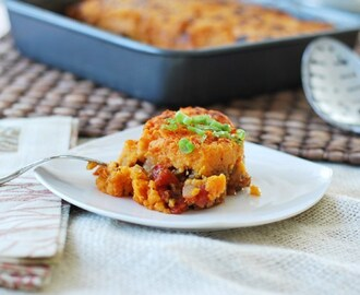 Mexican Sweet Potato Shepherds Pie