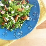 Crispy Duck Salad with a Dried Cherry Compote
