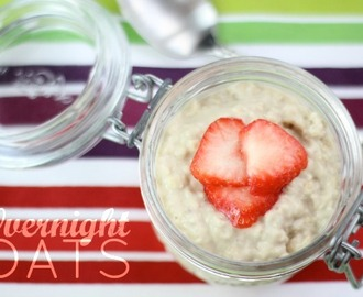 Healthy Breakfast: Easy Overnight Oats