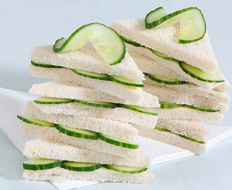 The Noble Cucumber Sandwich.