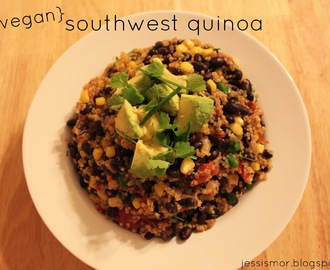 {vegan} Southwest Quinoa