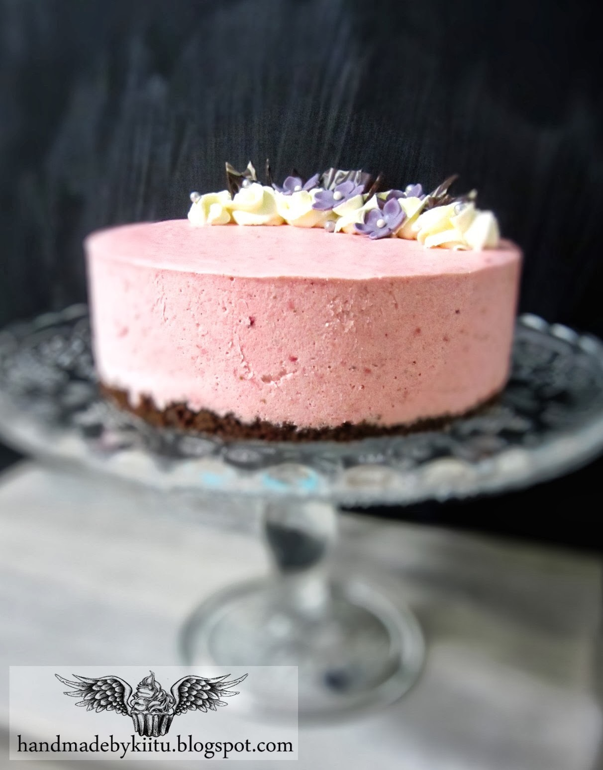Strawberry/lime cheesecake / Mansikka/limejuustokakku