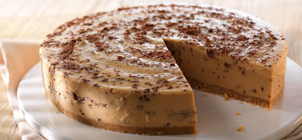 Recept: Karamelový cheesecake