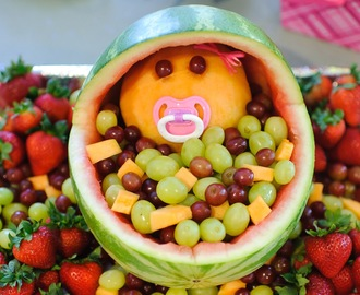 Baby Shower Fruit Bassinet