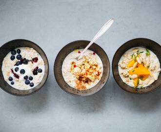 Overnight oats - Recept - Allerhande