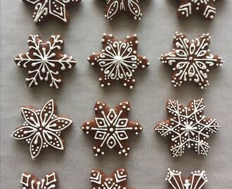 Snowflakes gingerbread cookies | Игрушки in 2018 | Pinterest | Cookies, Gingerbread cookies and Gingerbread