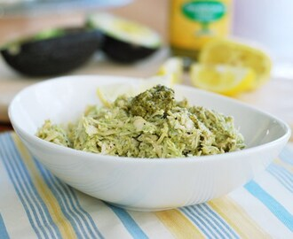 Lemon Pesto & Avocado Chicken Salad