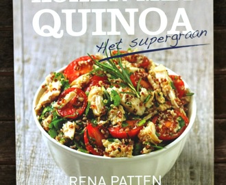 Review kookboek Koken met quinoa – Rena Patten