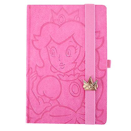 Super Mario Bros. Princess Peach Notebook Rosa