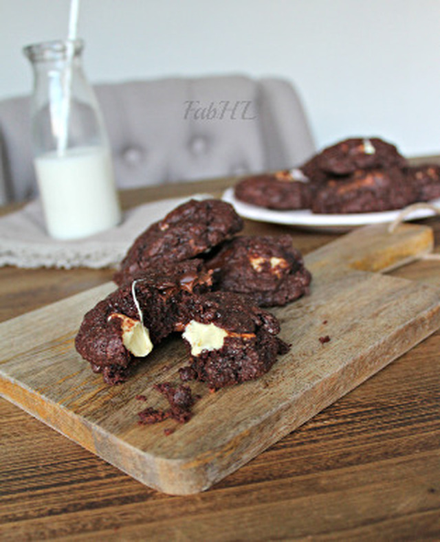 Triple Chocolate Chunk Cookie