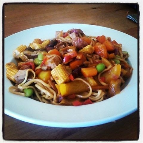 STICKY & SWEET STIR FRY