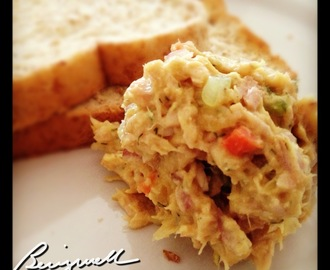 Making Tuna Salad Sandwich