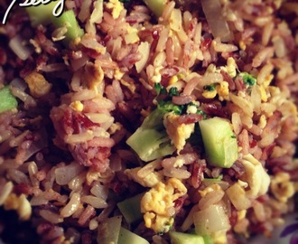Cooking Healthy Fried Rice (Easy Rice Recipe)