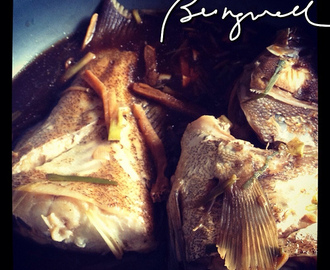 Cooking Fish Stew in Light Soy Sauce