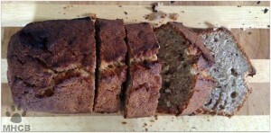 Gluten Free, Dairy, easy banana bread recipe