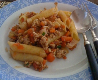Cooking Pasta Sauce (Home-made)