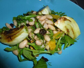 Caramelised Fennel and Cannellini Bean Salad Recipe