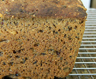 Multigrain Sourdough Bread for Bread Baking Day #58
