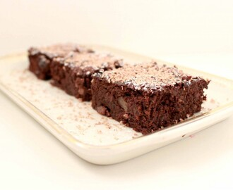Healthy brownies (met secret ingredient!)