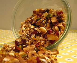 Lactosevrije week: Homemade granola